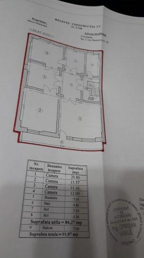 Teren intravilan de vanzare in Constanta, zona Ultracentral. Suprafata terenului 825 metri patrati, deschidere 33 metri. Pret: 400.000 euro negociabil. Destinatie: Rezidenta.