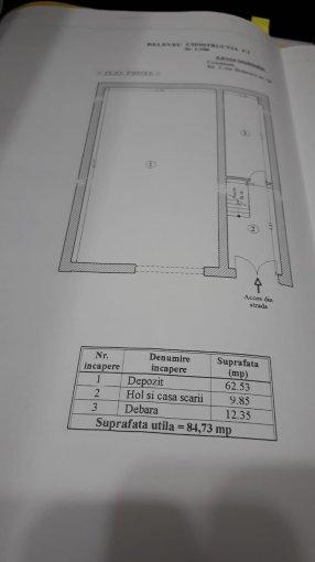 Teren intravilan de vanzare in Constanta. Suprafata terenului 825 metri patrati, deschidere 33 metri. Pret: 400.000 euro.