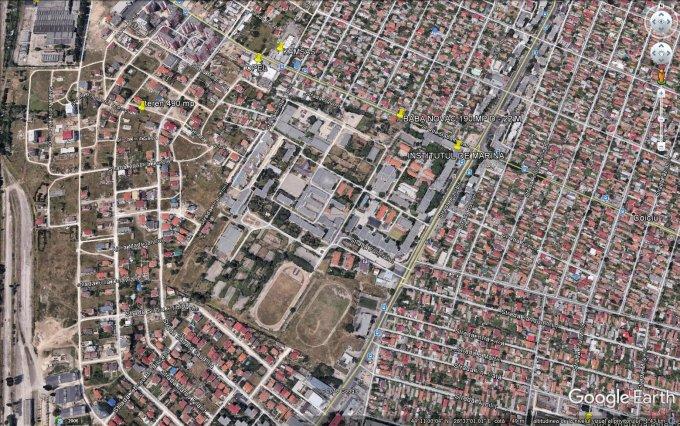 Teren intravilan de vanzare direct de la agentie imobiliara, in Constanta, zona Compozitorilor, cu 115.000 euro negociabil. Suprafata de teren 490 metri patrati cu deschidere de 16.62 metri.  Destinatie: Rezidenta.