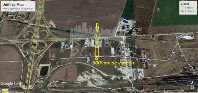 de vanzare teren intravilan cu suprafata de 5000 mp si deschidere de 50 metri. In orasul Constanta, zona Ancora.
