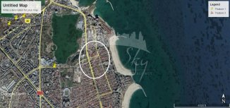 vanzare teren intravilan de la agentie imobiliara cu suprafata de 220 mp, in zona Delfinariu, orasul Constanta