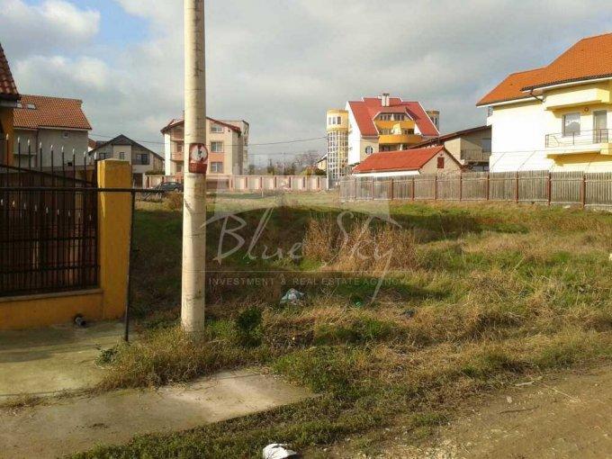 Teren intravilan de vanzare direct de la agentie imobiliara, in Constanta, cu 71.500 euro negociabil. Suprafata de teren 470 metri patrati cu deschidere de 14 metri.