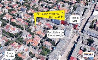 vanzare 165 metri patrati teren intravilan, zona Centru, orasul Constanta
