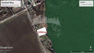 vanzare teren intravilan de la agentie imobiliara cu suprafata de 1000 mp, in zona Carrefour, orasul Constanta