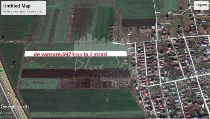 Teren intravilan de vanzare direct de la agentie imobiliara, in Lazu, cu 69.730 euro negociabil. Suprafata de teren 6973 metri patrati cu deschidere de 1306 metri.