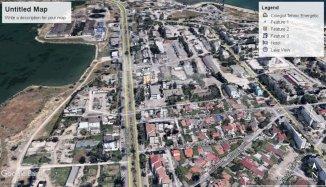 vanzare teren intravilan de la agentie imobiliara cu suprafata de 500 mp, in zona Delfinariu, orasul Constanta