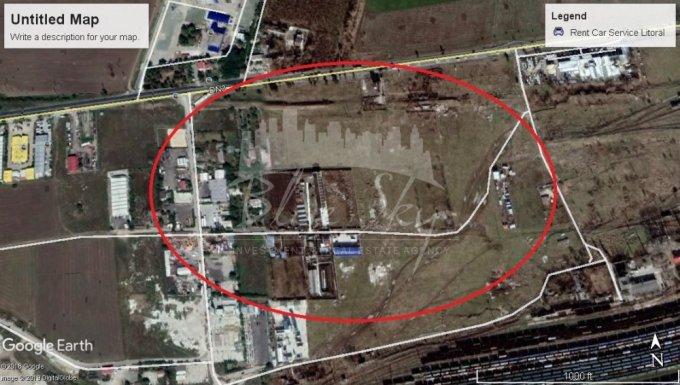 Teren intravilan de vanzare direct de la agentie imobiliara, in Constanta, zona Ancora, cu 125.000 euro negociabil. Suprafata de teren 5000 metri patrati cu deschidere de 50 metri.