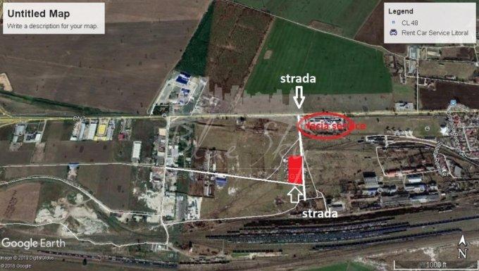 de vanzare teren intravilan cu suprafata de 5000 mp si deschidere de 100 metri. In orasul Constanta, zona Ancora.