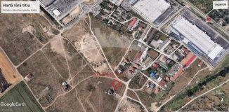vanzare 319 metri patrati teren intravilan, zona Carrefour, orasul Constanta