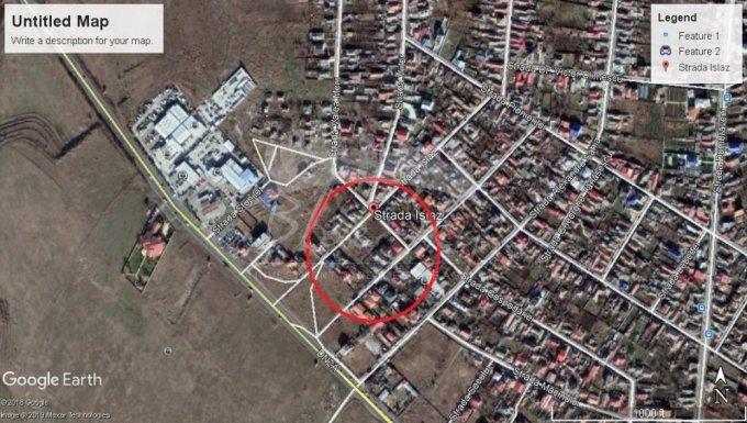 de vanzare teren intravilan cu suprafata de 921 mp si deschidere de 175 metri. In orasul Constanta, zona Palazu Mare.