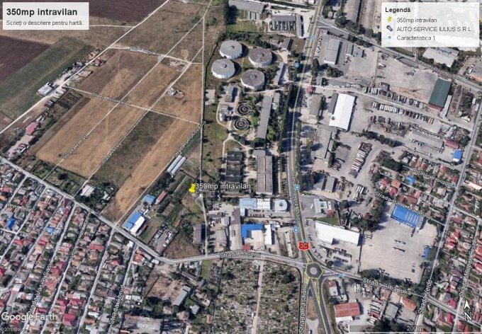 Palas Teren intravilan vanzare 350 mp, deschidere 18 metri. Pret: 19.250 EUR. agentie imobiliara vand teren intravilan Destinatie: Comercial. Utilitati: Internet, Gaze.