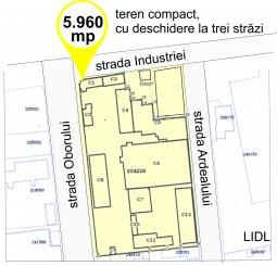 Constanta, zona ICIL, teren intravilan de vanzare de la agentie imobiliara