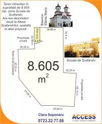 vanzare teren intravilan de la agentie imobiliara cu suprafata de 8605 mp, in zona Far, orasul Constanta