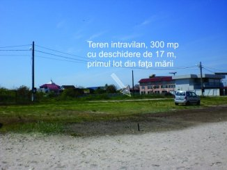 vanzare 300 metri patrati teren intravilan, comuna 2 Mai