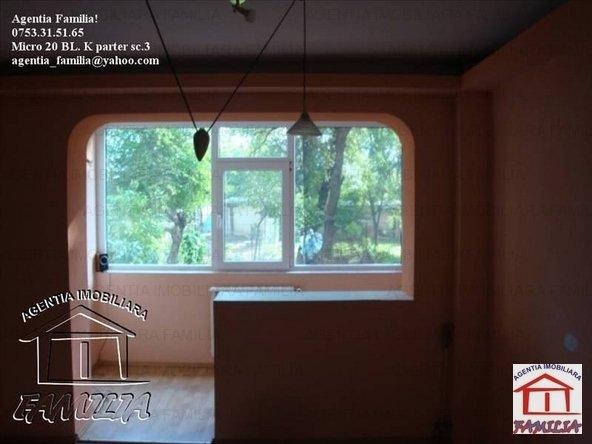 vanzare apartament decomandat, zona Micro 21, orasul Galati, suprafata utila 68 mp