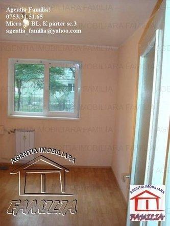vanzare apartament cu 3 camere, decomandat, in zona Micro 21, orasul Galati