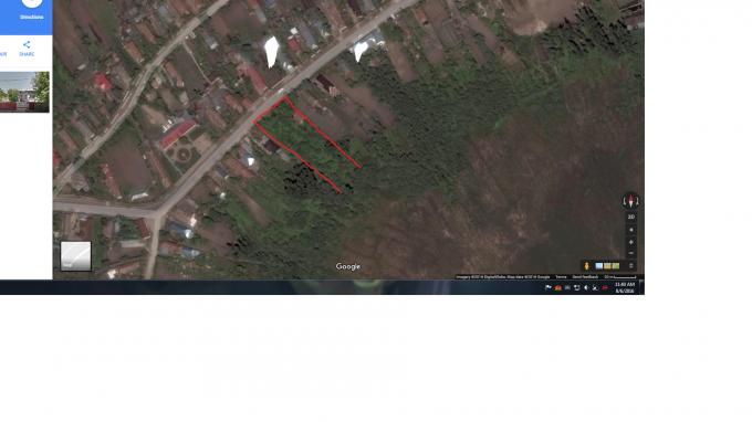 Teren intravilan de vanzare in Calugareni. Suprafata terenului 1852 metri patrati, deschidere 60 metri. Pret: 36.500 euro negociabil.