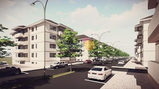 vanzare apartament decomandat, zona Nicolina 2, orasul Iasi, suprafata utila 55 mp