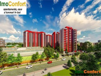 vanzare apartament decomandat, zona Tudor Vladimirescu, orasul Iasi, suprafata utila 60 mp