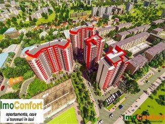 vanzare apartament cu 2 camere, decomandat, in zona Tudor Vladimirescu, orasul Iasi