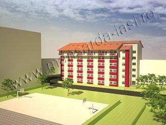 Duplex cu 2 camere de vanzare, confort Lux, zona Nicolina,  Iasi