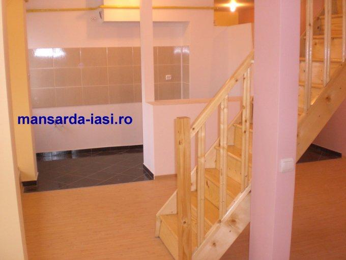 Iasi, zona Alexandru cel Bun, duplex cu 2 camere de vanzare