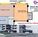 vanzare apartament cu 2 camere, decomandat, in zona Nicolina, orasul Iasi