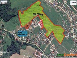 360000 mp teren intravilan de vanzare, in zona Bucium, Iasi