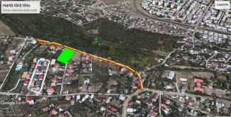 Iasi, zona Galata, teren intravilan de vanzare de la agentie imobiliara