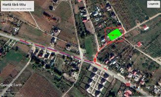 agentie imobiliara vand teren intravilan in suprafata de 1000 metri patrati, amplasat in zona Tomesti, orasul Iasi