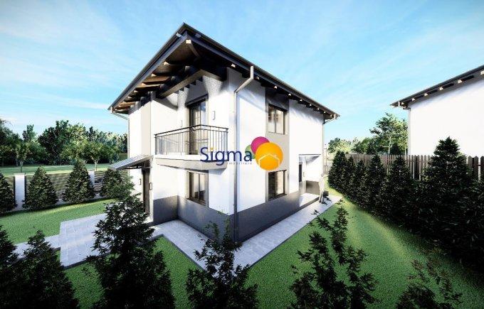 Vila cu 1 etaj, 5 camere, 2 grupuri sanitare, avand suprafata utila 115 mp. Pret: 110.000 euro. agentie imobiliara vanzare Vila.