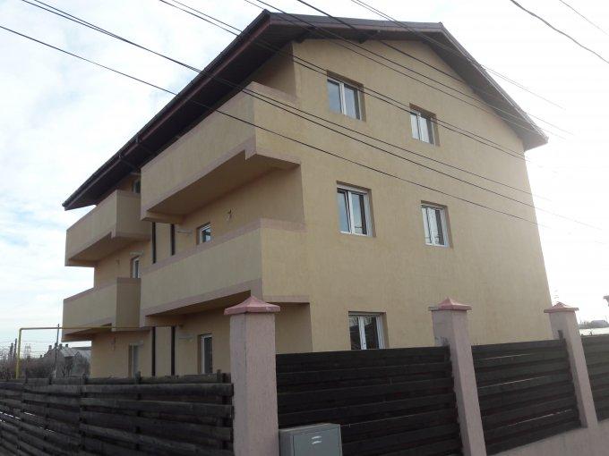Apartament de vanzare in Bragadiru cu 2 camere, cu 1 grup sanitar, suprafata utila 45 mp. Pret: 31.500 euro. Usa intrare: Lemn.