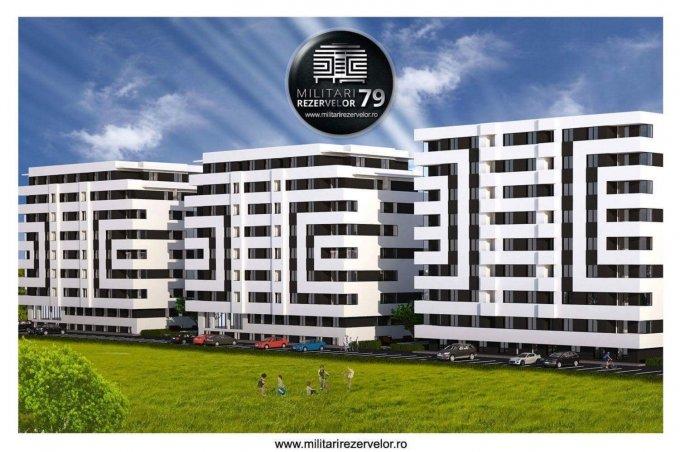 Apartament vanzare Chiajna 3 camere, suprafata utila 70 mp, 2 grupuri sanitare, 1  balcon. 59.000 euro. Etajul 2 / 7. Apartament Chiajna  Ilfov