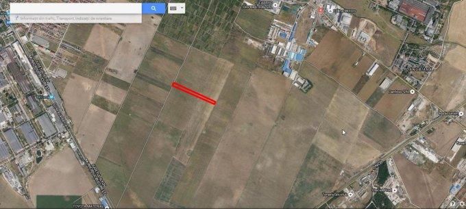 de vanzare teren extravilan in suprafata de 2650 mp si deschidere de 9 metri. In orasul Popesti Leordeni, zona Exterior Sud.