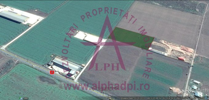 Teren agricol extravilan de vanzare in Afumati. Suprafata terenului 14000 metri patrati, deschidere 82 metri. Pret: 140.000 euro negociabil. Destinatie: Industrial. Utilitati: Curent electric 220V.