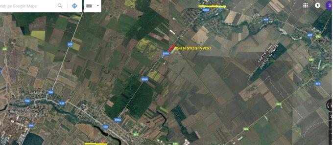 Teren extravilan de vanzare direct de la proprietar, in Afumati, cu  EUR. Suprafata de teren agricol 18691 metri patrati cu deschidere de 450 metri.