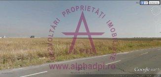 vanzare teren intravilan de la agentie imobiliara cu suprafata de 105585 mp, in zona DN 4, orasul Popesti Leordeni