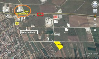 Ilfov Ciorogarla, teren intravilan de vanzare de la agentie imobiliara