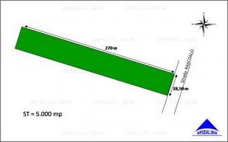 vanzare 5000 metri patrati teren intravilan, zona Centru, orasul Pantelimon