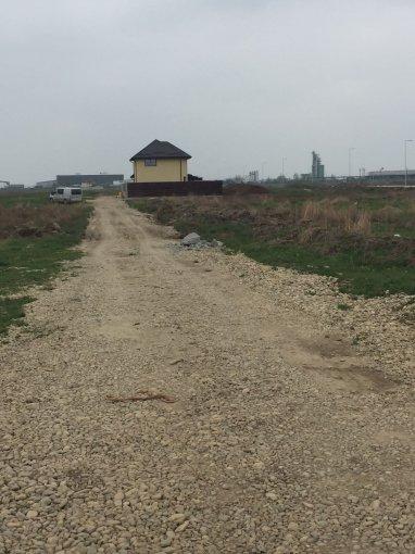 de vanzare teren intravilan cu suprafata de 1000 mp si deschidere de 57.5 metri. In comuna Chiajna.