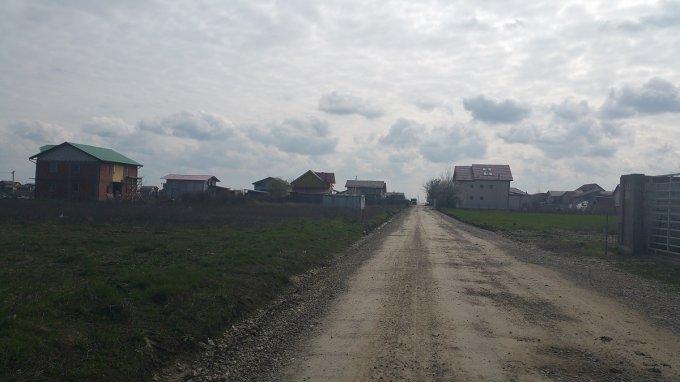 de vanzare teren intravilan cu suprafata de 287 mp si deschidere de 16 metri. In comuna Berceni.