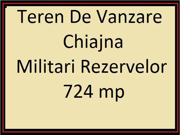 Teren intravilan vanzare 724 mp, deschidere 20 metri. Pret: 70.000 euro. proprietar vand teren intravilan Destinatie: Rezidenta. Utilitati: Gaze, Curent electric 220V, Curent electric 380V, Canalizare.