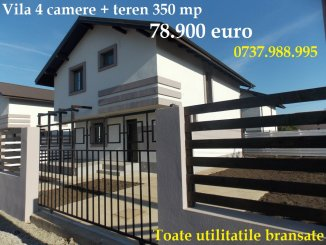 Ilfov Berceni, vila cu 4 camere de vanzare de la proprietar
