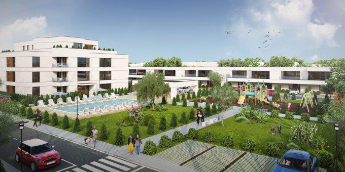 Sud-Vest Bragadiru vila cu 4 camere, 1 etaj, 3 grupuri sanitare, cu suprafata utila de 124 mp, suprafata teren 130 mp si deschidere de 8 metri. In orasul Bragadiru, zona Sud-Vest.