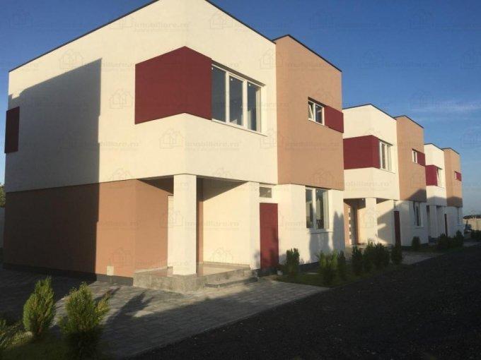 Vila cu 4 camere, 1 etaj, cu suprafata utila de 120 mp, 3 grupuri sanitare. 77.000 euro. Destinatie: Rezidenta. Vila Clinceni  Ilfov