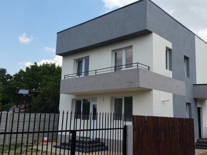 Vila cu 3 camere, 1 etaj, cu suprafata utila de 120 mp, 2 grupuri sanitare, 1  balcon. 69.900 euro. Vila Domnesti  Ilfov
