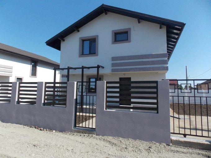 Vila cu 1 etaj, 4 camere, 2 grupuri sanitare, avand suprafata utila 100 mp. Pret: 83.000 euro. Incalzire: Centrala proprie a cladirii. dezvoltator imobiliar vanzare Vila.