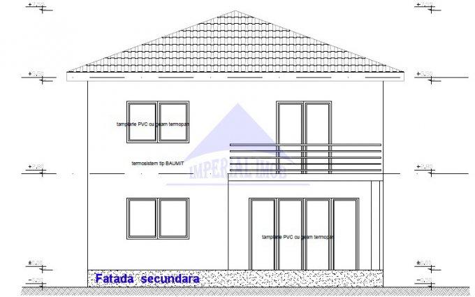 Vila de vanzare direct de la agentie imobiliara, in Branesti, cu 94.000 euro. 2  balcoane, 3 grupuri sanitare, suprafata utila 120 mp. Are 1 etaj si 4 camere.