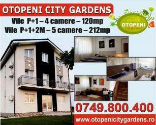 Ilfov Otopeni, zona Ferme, vila cu 5 camere de vanzare de la dezvoltator imobiliar