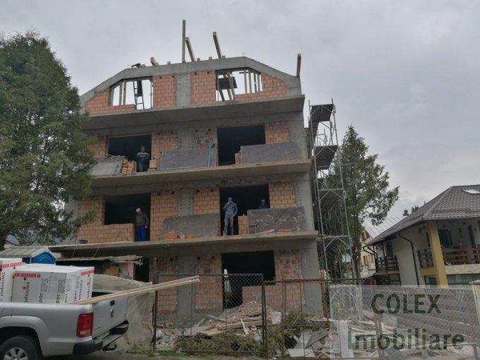 Apartament vanzare Busteni 3 camere, suprafata utila 73 mp, 1 grup sanitar. 61.000 euro negociabil. Etajul 1. Apartament Partia de ski Kalinderul Busteni  Prahova